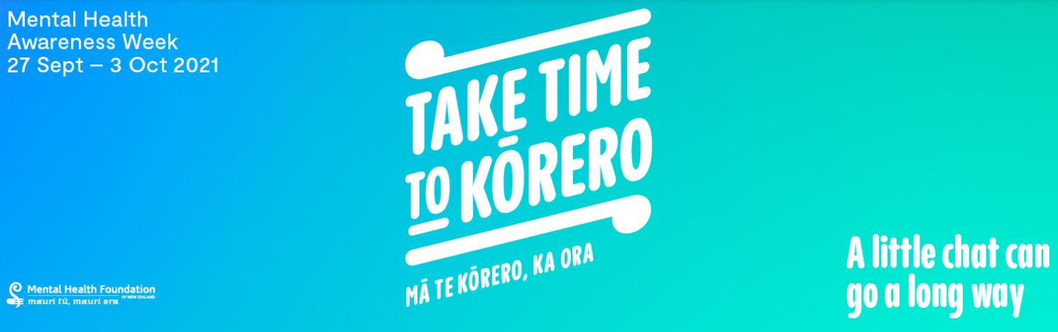 Take time to kōrero