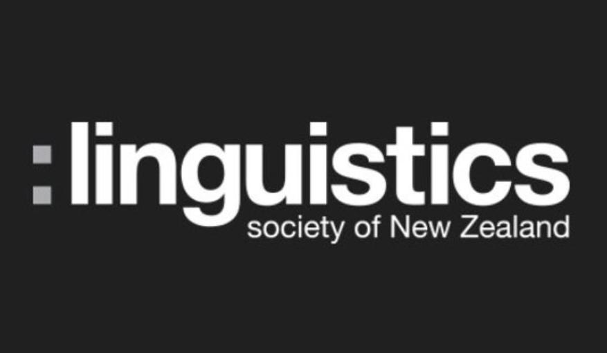 Linguistics Society of New Zealand logo