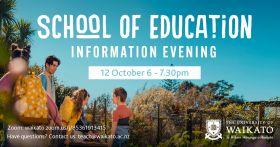 School of Ed Info Evening
